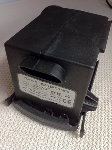JM64 - 2 connector JLDP type recliner transformers - Telephone socket/2pin plug